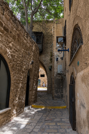 yaffo: Old Jaffa alley