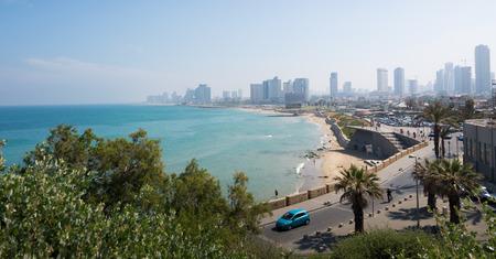 cityscape: Tel Aviv cityscape Editorial