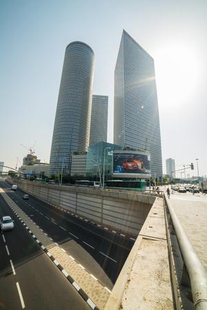 azrieli: A walk in Tel Aviv, Israel