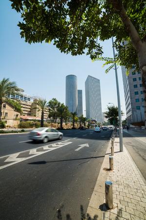 azrieli center: A walk in Tel Aviv, Israel
