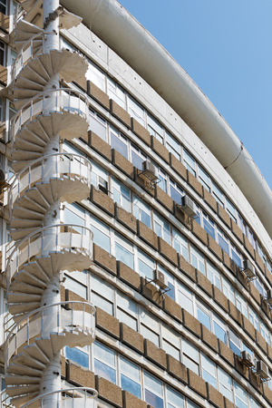 aviv: Tel Aviv walk, Israel Stock Photo