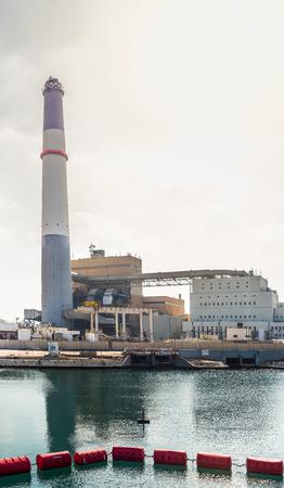 tel: Reading power station in Tel Aviv