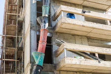 aviv: Building construction in Tel Aviv