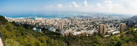 haifa: Haifa panorama from top of Carmel, Israel