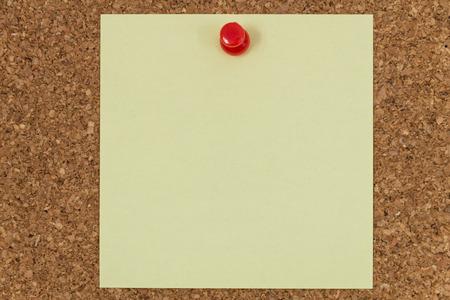corkboard: corkboard post it template