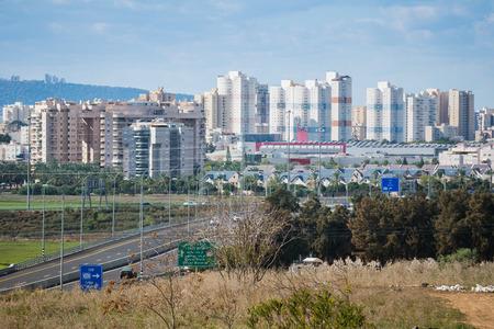tel: View from Tel Afec, Israel