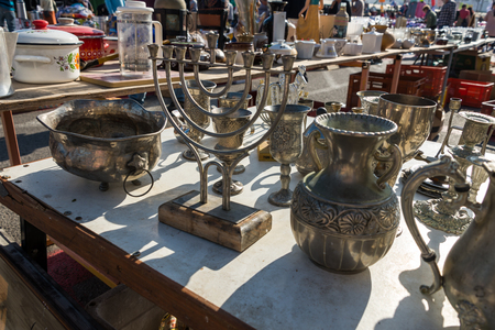 merchant: Merchant Fair and The Flea Market in Haifa, Israel
