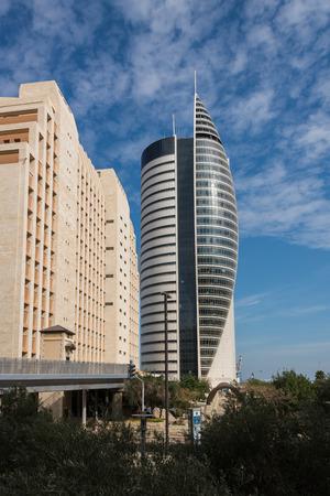 haifa: Sail Tower in Haifa, Israel