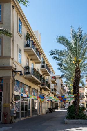 haifa: The Old Commercial Center in Haifa, Israel
