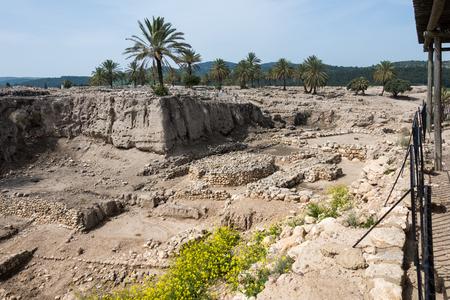 tel: Tel Megiddo National Park, Israel