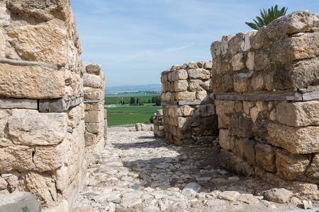 Tel Megiddo National Park, Israel