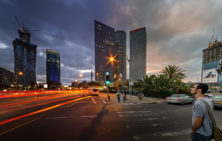 tel aviv: Azrieli Center in Tel Aviv, Israel