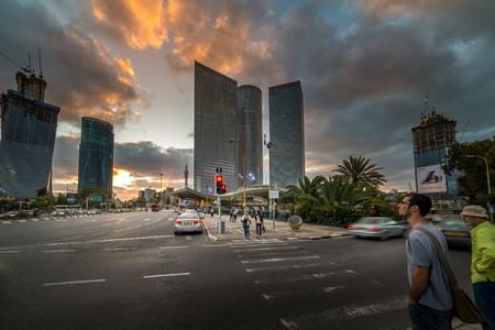 azrieli: Azrieli Center in Tel Aviv, Israel