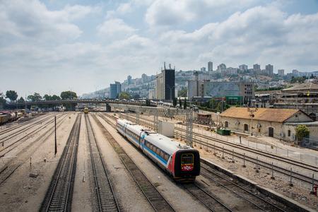 Railway museum in Haifa, Israel