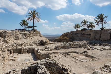 armageddon: Visit to Megiddo National Park, Israel Stock Photo