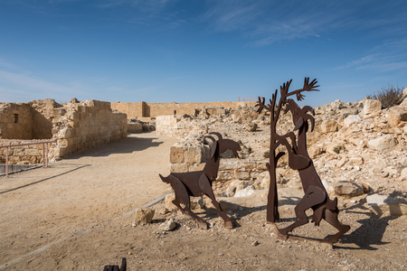 nabataean: Avdat National Park in Southern Israel