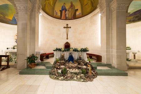 St. Josephs Church at Nazareth, Israel