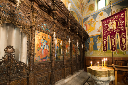 Greek Orthodox Church of the Annunciation at Nazareth Stock Photo - 81331028