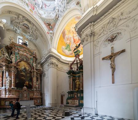 Saint catherines Church and Mausoleum, Austria Editorial