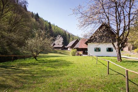 Austrian Open Air Museum St.bing, Austria