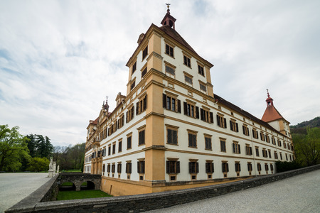Eggenberg palace, the capital city of Styria, Austria Editorial