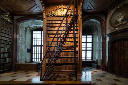 Austrian National Library, Austria 免版税图像 - 90483412