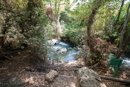 Visiting Banias Nature Reserve in Northern Israel