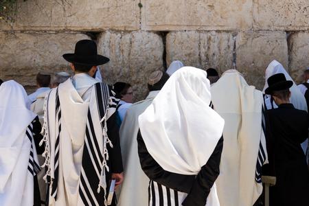 At the Ramparts Walk in Jerusalem, Israel Editorial