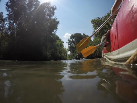 River Kayaking in Northern Israel