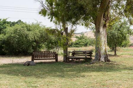 Kursi National Park at Golan Heights, Israel