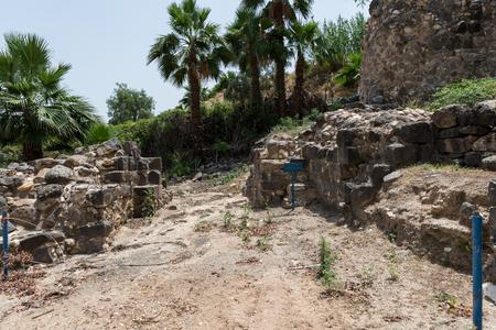 Hamat Tiberias National Park near Sea of Galilee, Israel