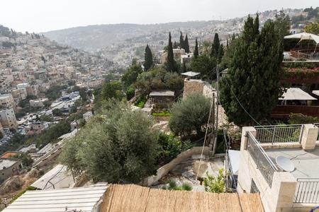 Tour at City of David in Jerusalem, Israel Stock Photo