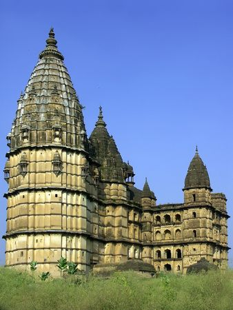 Old temples and palaces, Orchha, India Stock Photo - 5608671