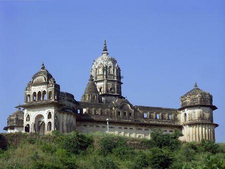 nandi: Lakshmi Narayana Temple at Orchha, India