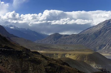 Nubra valley, The Himalayas, Ladakh  photo