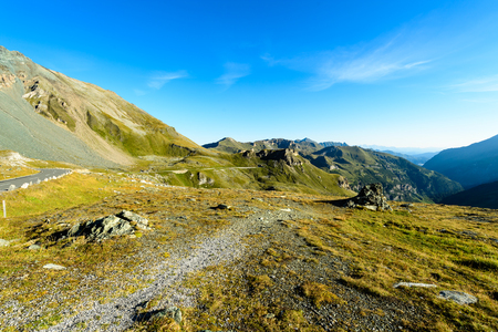 Grossglockner highest mountain in Austria Stock Photo