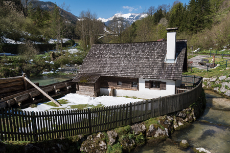 old watermill in austria