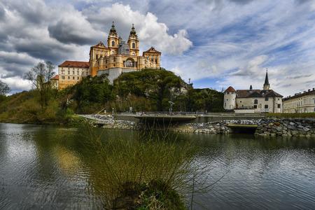 Benedictine Monastery Melk in the Wachau Austria