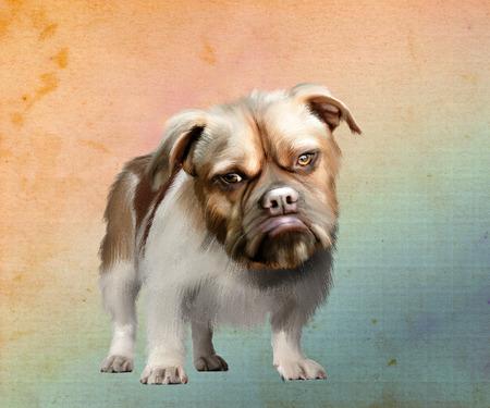 panting: dog