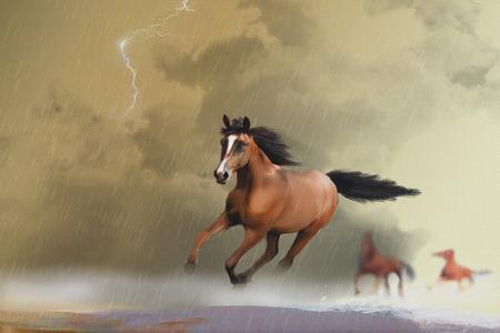 panic attack: Horse Panic Attack
