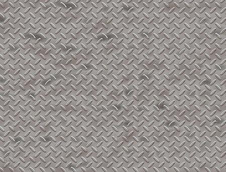 diamond plate: worn steel diamond plate