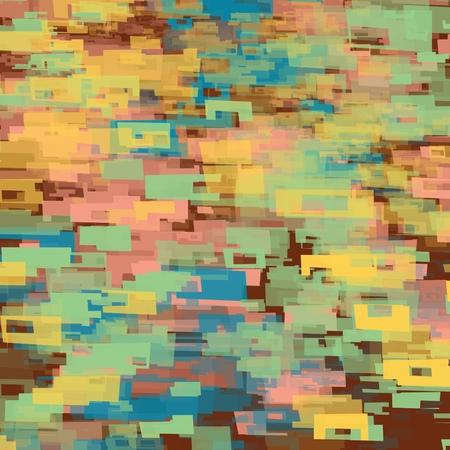 Multi-coloured block paper, electronic  futuristic design, Illustration. 版權商用圖片