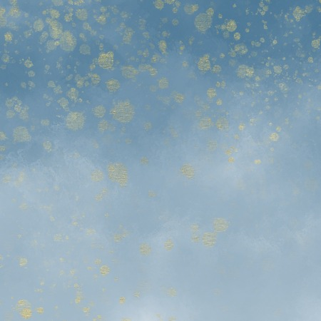 Watercolour Ombre Paper Background with specs of gold, Illustration. 版權商用圖片