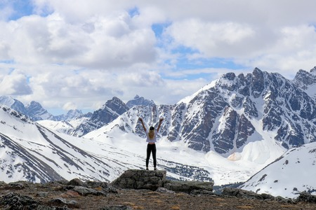 Epic Mountains in  Alberta, Canada