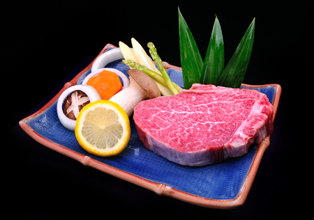 beef meat: Japanese wagyu kobe or miyasaki japan great beef and expensive