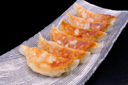 easy way: hungry eat gyoza is easy way yammy