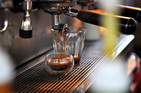 best coffee: Coffee machine great machine make best coffee be the best Stock Photo
