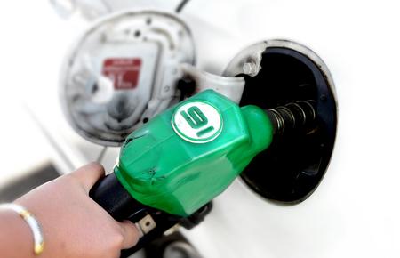 fill: color of fuel nozzle gasoline pump fill time