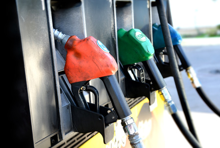 fueling pump: color of fuel nozzle gasoline pump fill time