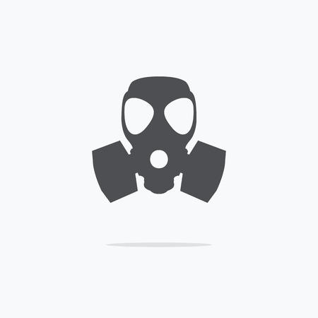 respirator: Respirator icon. Gas mask icon. Vector illustration.